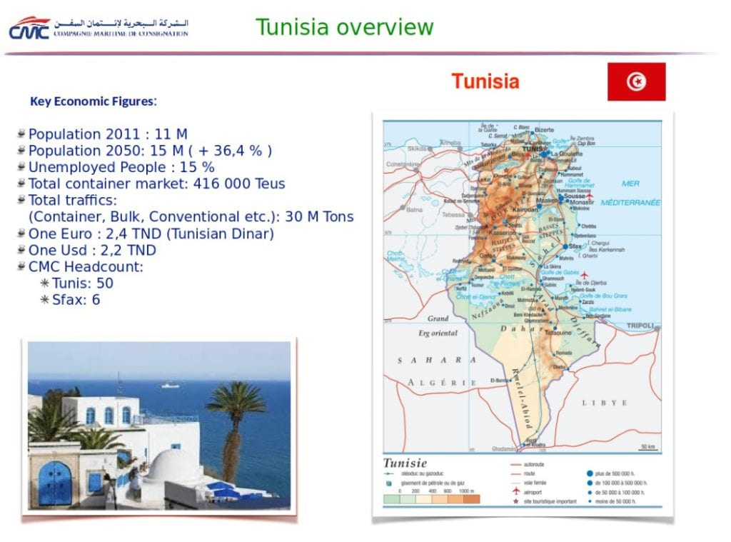 A Shipping Agent in Tunisia