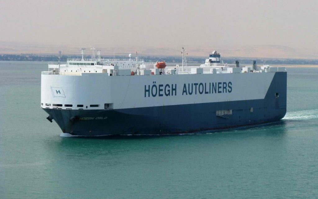 Höegh Autoliners – A Leading Global Provider of RoRo Transportation Services