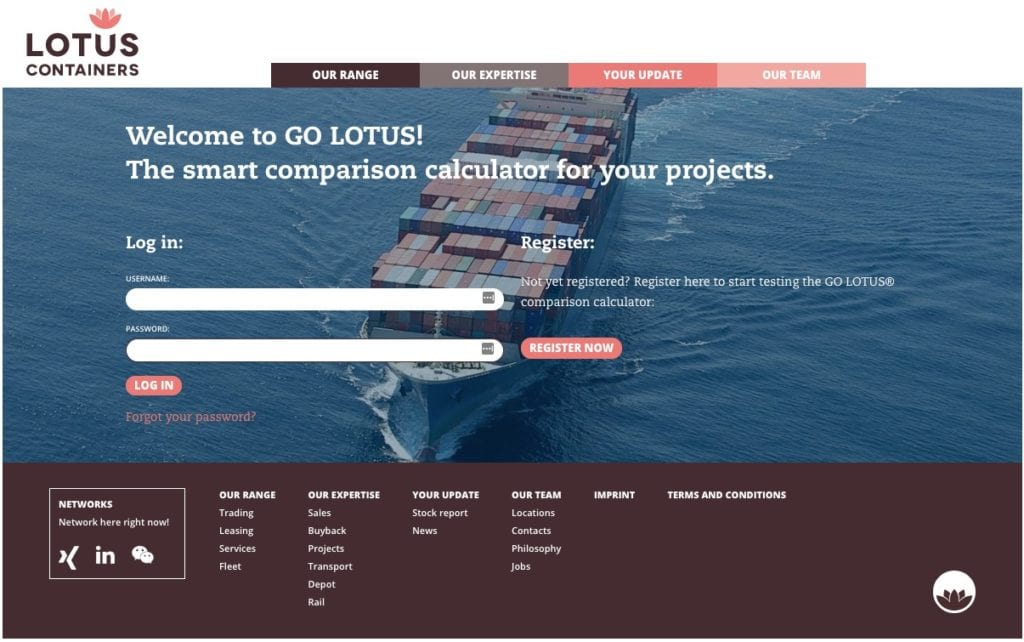 Container Services Buy/Sell – An Introduction To LOTUS Containers, Germany