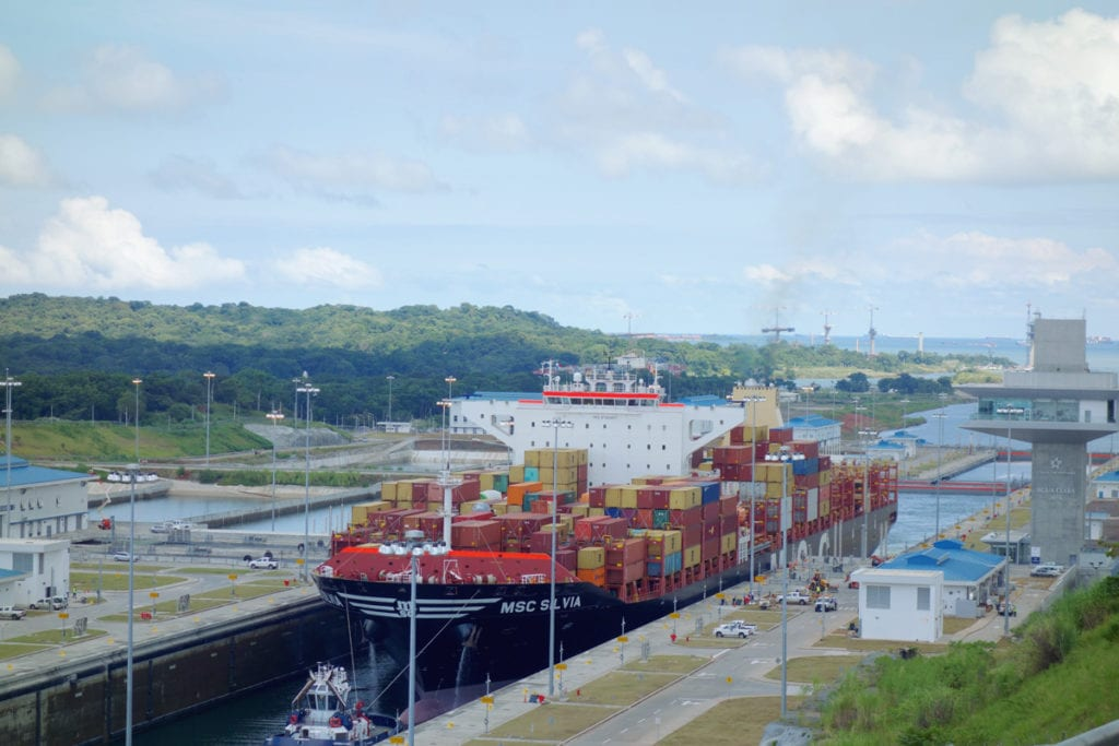 Panama Canal New Locks