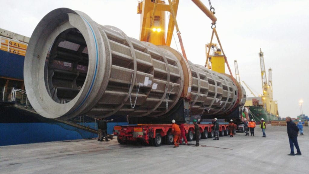 00 Mtons 30m long drum pulper