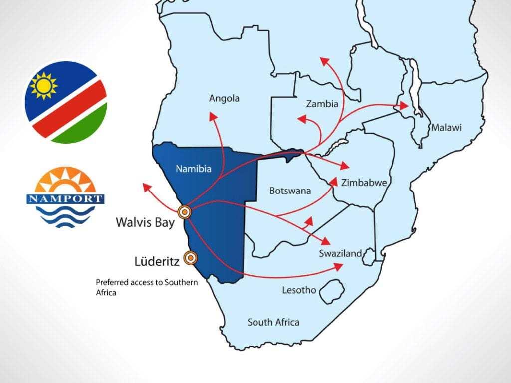 Namibia Border Crossings