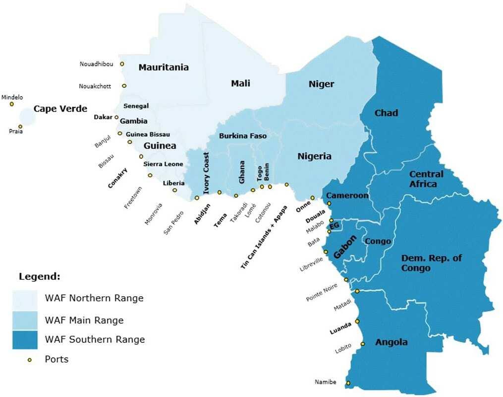 WAF Map