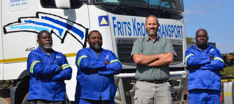 Frits Kroon Transport, South Africa