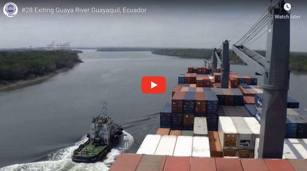 video of Guaya River Ecuador